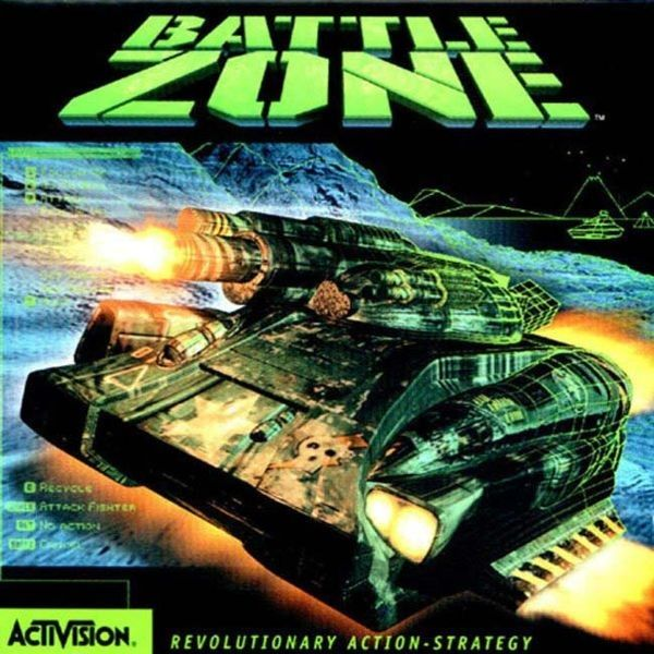 Battlezone is a critically acclaimed remake (for Microsoft Windows) of an arcade game of the same name. It was released by Activision in 1998. Aside from the name and presence of tanks, this game bears little resemblance to the original. Activision remade it into a hybrid of a tank simulation game, a first-person shooter and a real-time strategy game.