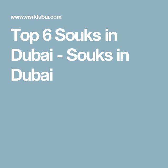 Top 6 Souks in Dubai - Souks in Dubai