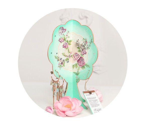 Jewelry Organizer Gift Set  // Earring Holder // by Deasatelier, $31.50