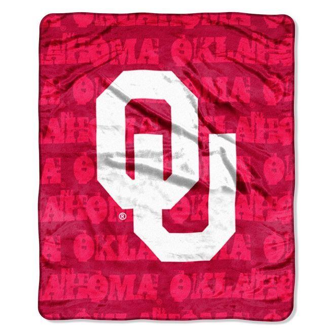 Oklahoma Sooners Blanket 46x60 Raschel Z157-8791848246