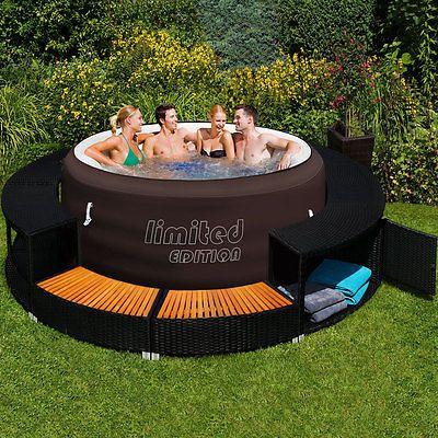 die besten 25 bestway whirlpool ideen auf pinterest lazy spa badewanne mit whirlpool und. Black Bedroom Furniture Sets. Home Design Ideas