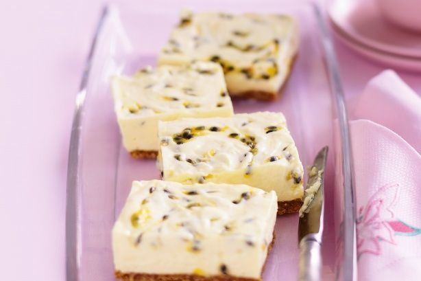 Chilled passionfruit cheesecake main image