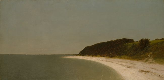 Eaton's Neck, Long Island, ca. 1872  John Frederick Kensett (American, 1816–1872)  Oil on canvas