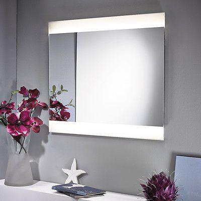 Nice Spiegel mit LED Beleuchtung xcm beleuchtet Badspiegel Wandspiegel M Aktion