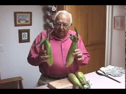 This is the best way to cook corn and not have to shuck it. If you haven't seen this short video, you've got to watch it! What a time saver. I've been passing it on for years and everyone says, I can't believe it, it really works!