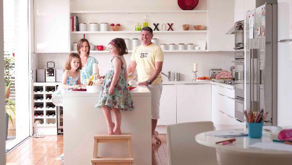 Kid friendly kitchens