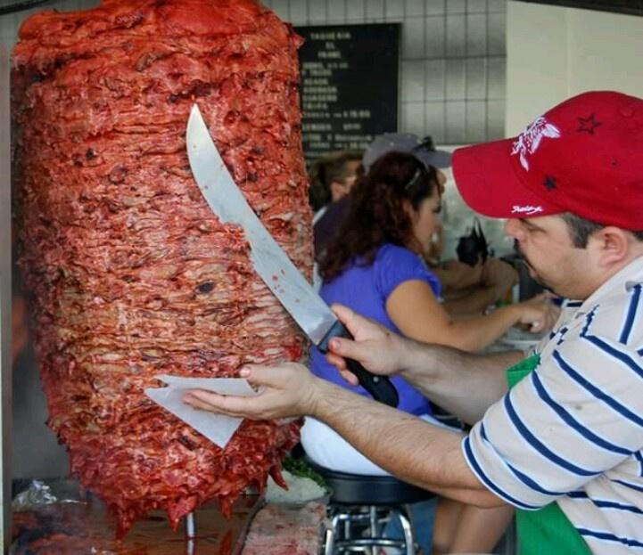 Tacos de trompo Hmmm Sooo good.!