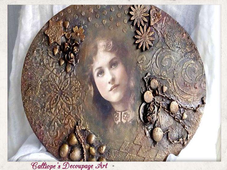 Mixed Media | Calliope's Decoupage Art
