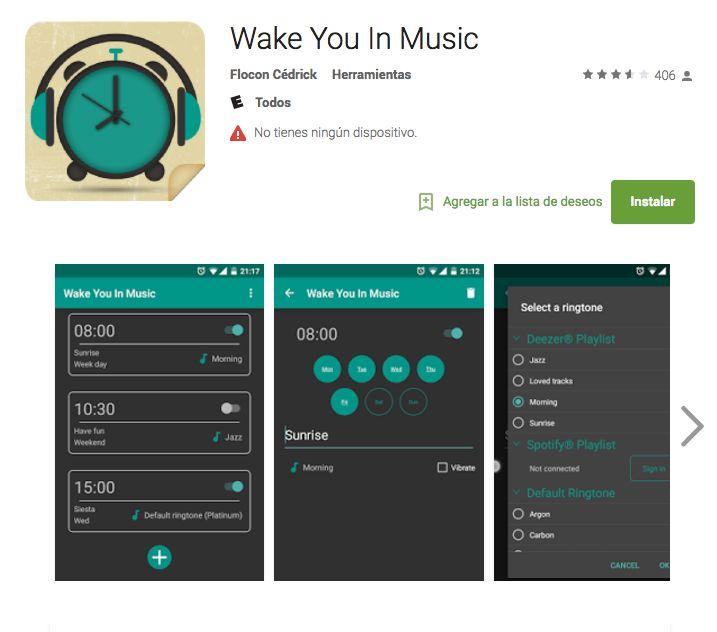 "Si ya te hartaste de despertar con un ""quiquiriquí"", ahora despertarás con tu lista de Spotify. #App #Spotify #CDMX #Tech"