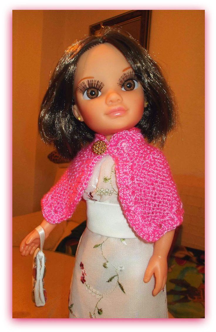 Cosiendo para Nancy, ademas de otras muñecas: Una capita para mi Nancy new
