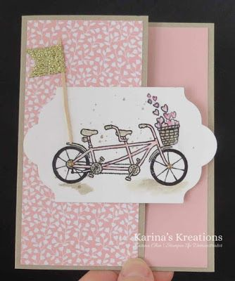 Stampin'Up Pedal Pushers Card!