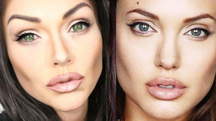 Angelina Jolie Makeup Transformation Tutorial – Makeup Project