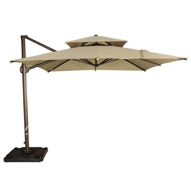 25 best ideas about Cantilever umbrella on Pinterest