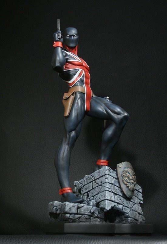Bowen Designs Marvel Union Jack Statue.jpg (550×800)