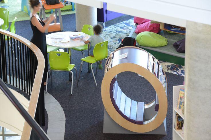 Reading Hideaway in children's area