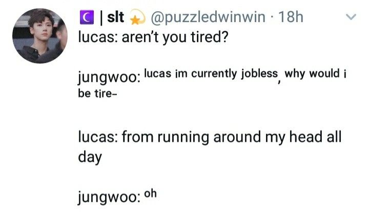 Nct Memes Funny Quotes Texts Lucas Jungwoo Nct Kpop Quotes Nct Yuta