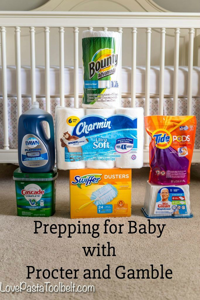 Prepping for Baby? Don't forget to stock up on your household necessities with Procter & Gamble - Love, Pasta and a Tool Belt #PGDetailsMatter #IC #ad