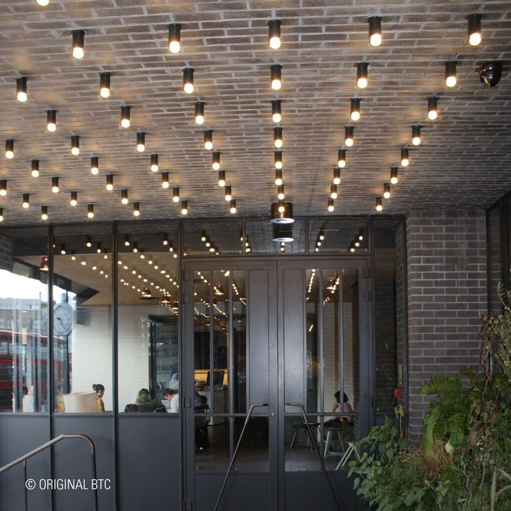 Join us on a trip down memory lane… In 2014 we crafted bespoke lighting for the entrance of Ace Hotel, London.