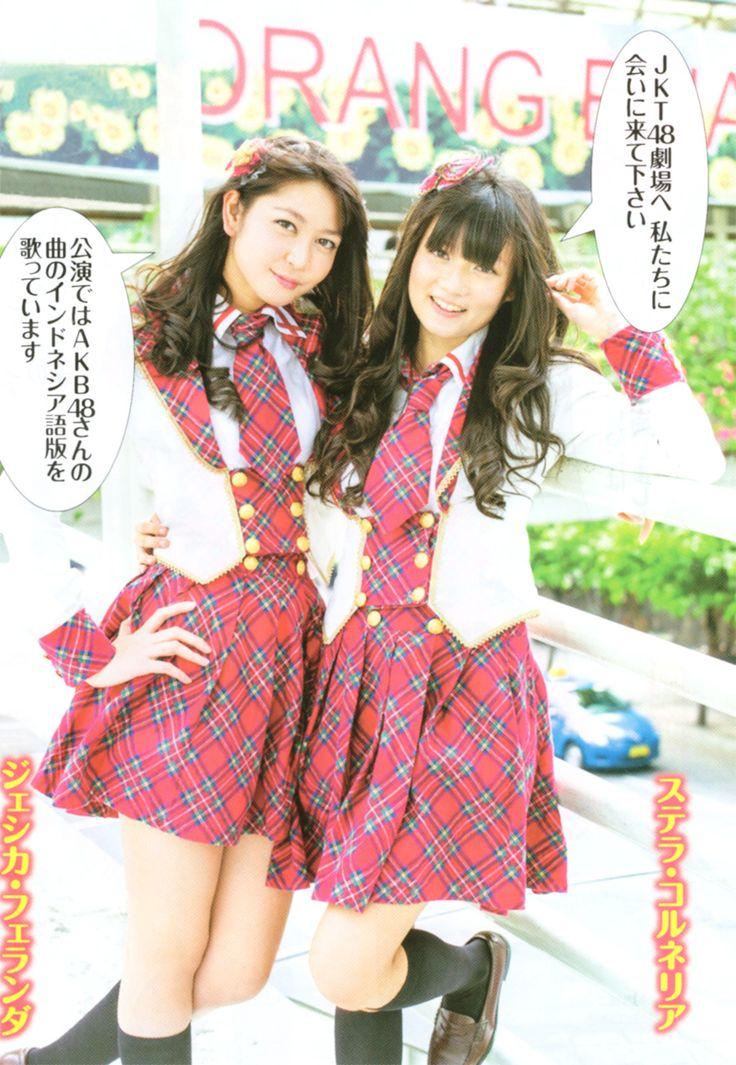 Weekly Manga Action 01.2013 JKT48 Jessica Veranda (Ve) (ジェシカ・ヴェランダ) (Vey) (ヴェイ)  Stella Cornelia (Stella)