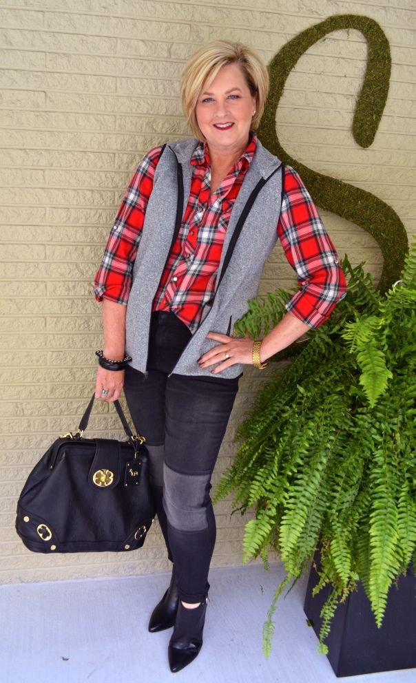 Fashion over 40 @50isnotold.com   Vests