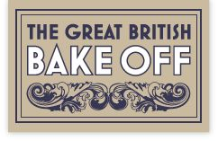 The Great british bake off - logo