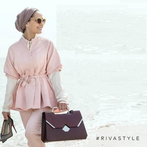 Classy look but i rather use a proper hijab