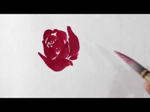 장미꽃 그림 그리기-[운곡의 토요특강] - YouTube