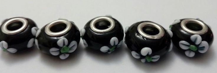 5 Moda Perle Perline Bigiotteria Europeo Foro Largo  murano M