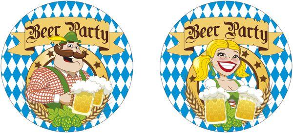 Oktoberfest Party Deko Artikel Oktoberfestdeko Wimpelkette Fahne ...