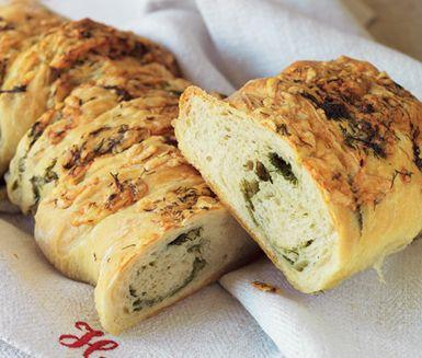 Recept: Dill- och ostbröd