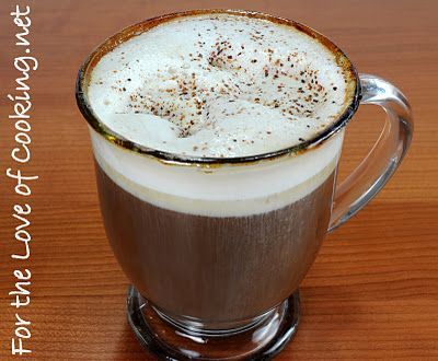 Spanish Coffee...made with kahlua, rum and a dash of triple sec.  Sounds yummy for winter time.