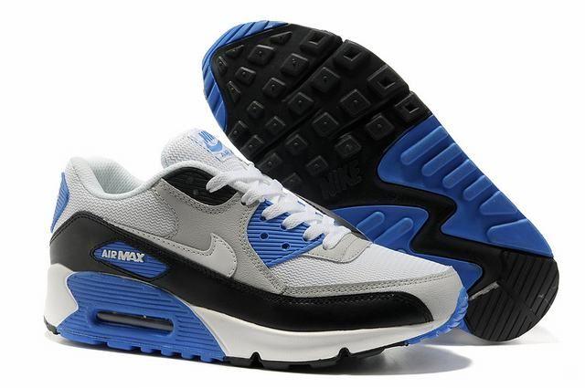 7004faec9c6810 nike air max pour homme pas cher,homme air max 90 gris et bleu ...