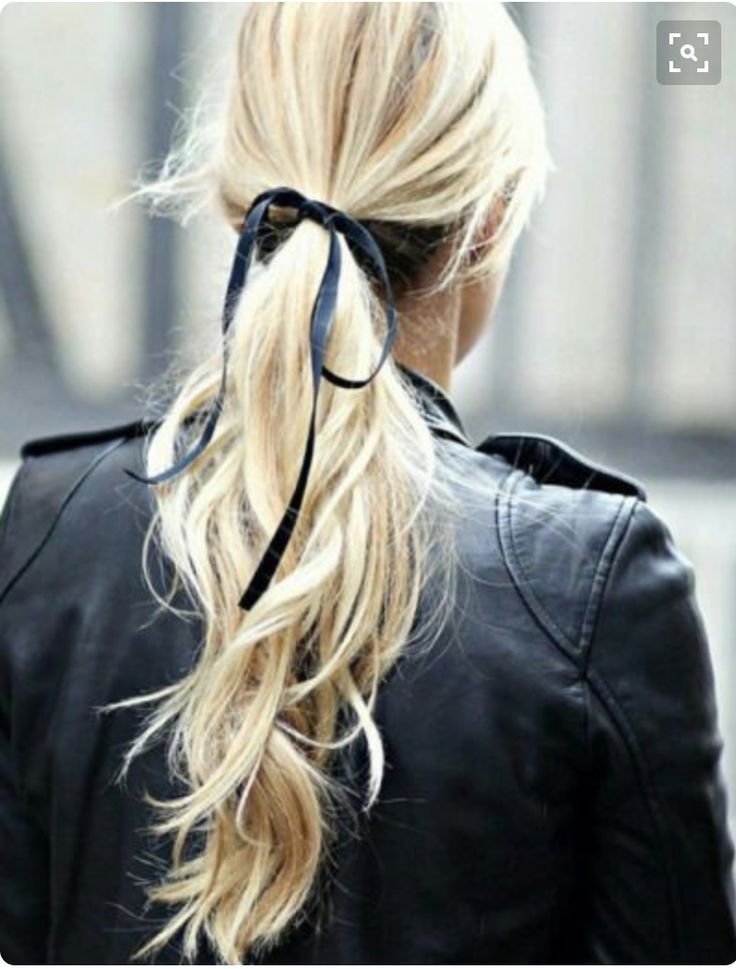 simple, chic ponytail xx