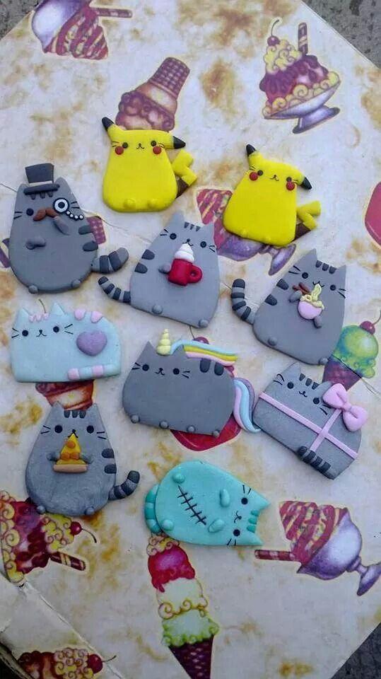 Cuteeeeeeee #kawaii #clay | :-: KAWAII :-: | Pinterest
