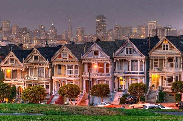San Francisco, CA... gotta see the Full House house!
