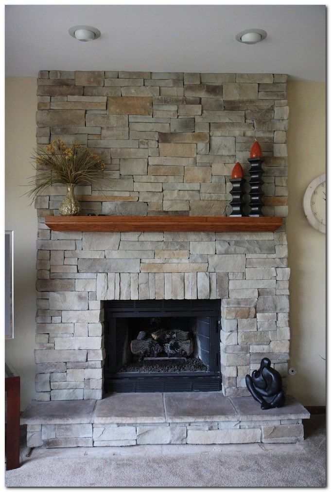 80 Classic Brick Fireplace Ideas The Urban Interior Stacked