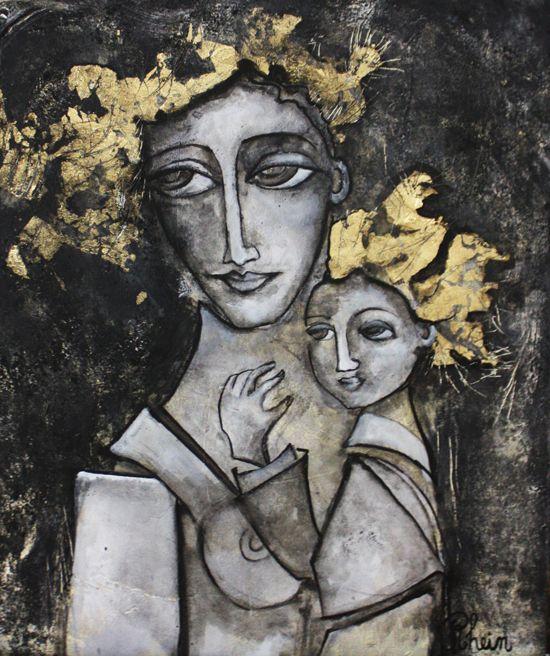 Fabienne Rhein, paintings - ego-alterego.com