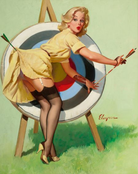 Gil Elvgren | Like and Mention