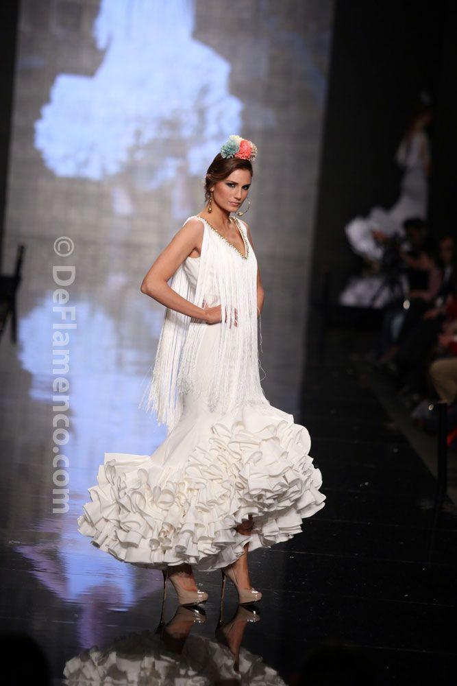 Fotografías Moda Flamenca - Simof 2014 - Sara de Benitez 'Flamên a portet' Simof 2014 - Foto 04