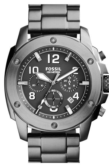 Fossil+'Modern+Machine'+Chronograph+Bracelet+Watch,+45mm+available+at+#Nordstrom
