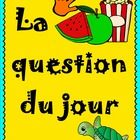 204 questions - a new question every day of the school year! ALL IN FRENCH! Engage your students upon their entry into your classroom during those ...