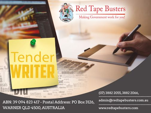 #Tender_Writing – How do you write a tender to someone you don't know?  -  Red Tape Busters (Shane Bowering) - Google+