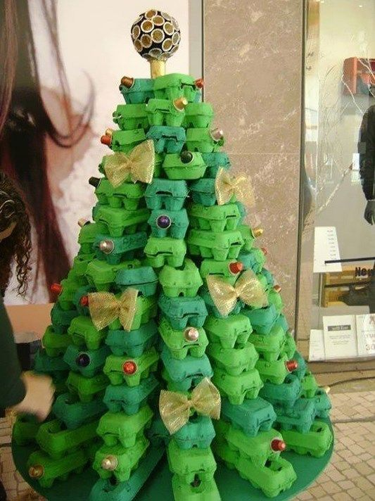 #Smartideas for #DIY #Christmas #tree  Vary the procedure of the Christmas tree #decoration and #house in general? I got 21 easy-ecological ideas to build your own Christmas trees, which will change the #decor of your #home!