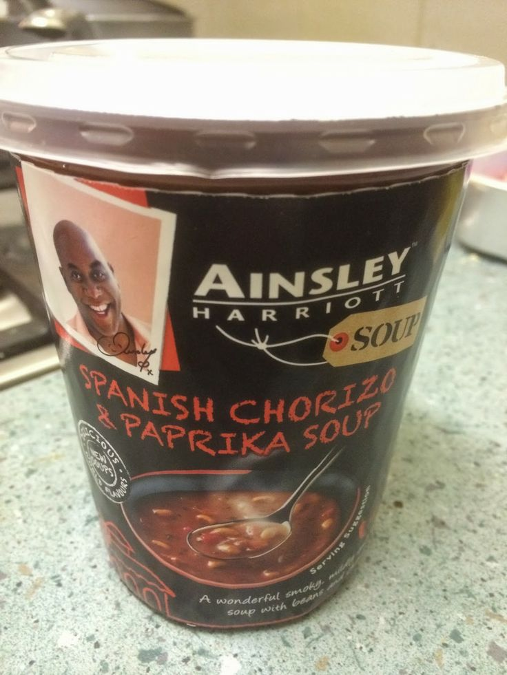 Foodstuff Finds: Ainsley Harriott Spanish Chorizo & Paprika Soup [review by @Rich Anderson]