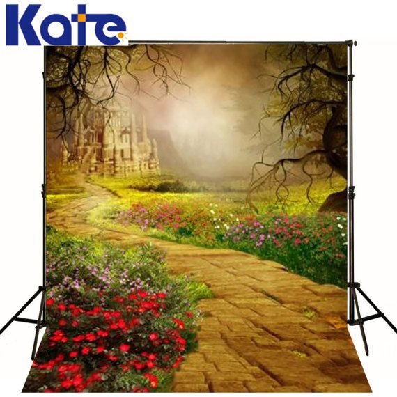 Kate Scenic Photography Backdrops Castle Children by katehome2014