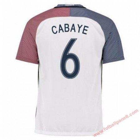 Frankrike 2016 Yohan Cabaye 6 Bortedrakt Kortermet.  http://www.fotballpanett.com/frankrike-2016-yohan-cabaye-6-bortedrakt-kortermet-1.  #fotballdrakter