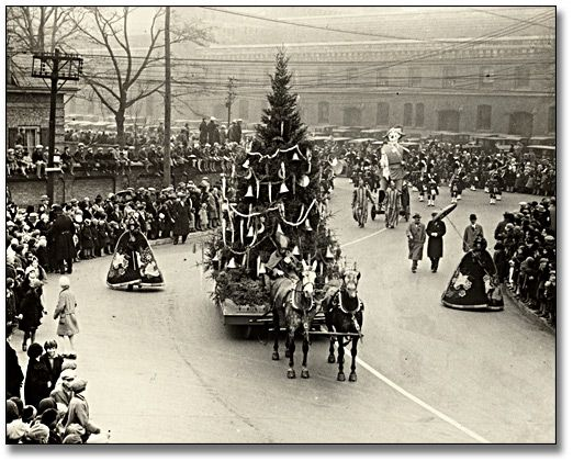 Arrival in Toyland, Eaton's Santa Claus Parade in Toronto .. 1930
