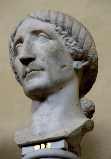 Vatikanische Museen, Museo Chiaramonti, Frisurenmode im alten Rom, julisch-claudische Zeit (antique Roman hair style, Julio-Claudian Period.
