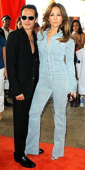 Jennifer Lopez & Marc Anthony (2010) in Miami, Florida.