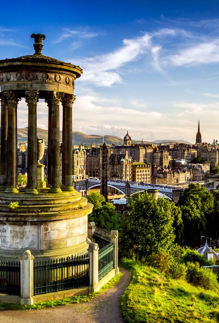 Beautiful view of the city of Edinburgh   19 Reasons Why Scotland Must Be on Your Bucket List. Amazing no. #12